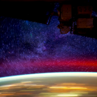 Earth from ISS Space Station
